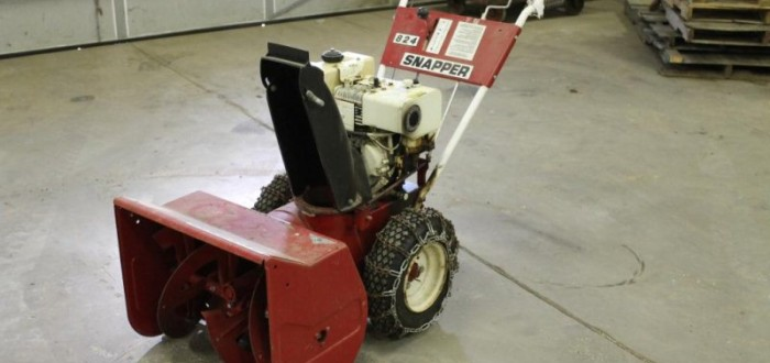 Snow Blower tune up