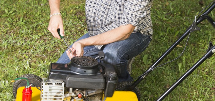 lawn mower engine repair