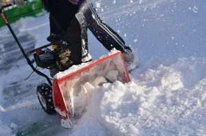 snow blower safety