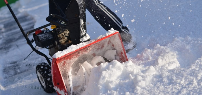 snow blower storage