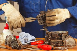 repair a small engine