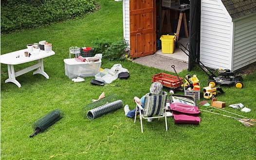 outdoor spring cleaning | Greg's Small Engine Repair & Service